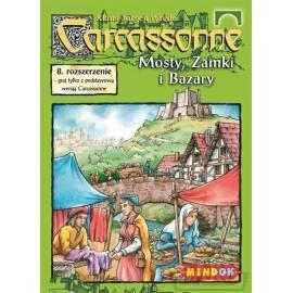 Carcassonne 8 - Mosty, zamki i bazary (dodatek)