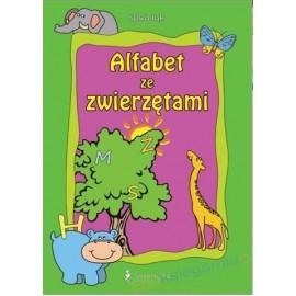 Alfabet ze zwierzętami - wierszyki, zabawy i...