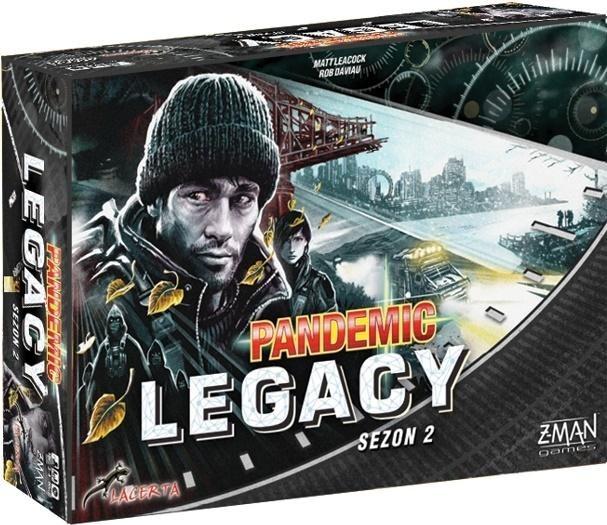 Pandemic Legacy - Edycja czarna LACERTA