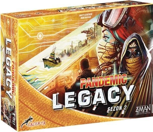 Pandemic Legacy - Edycja żółta LACERTA