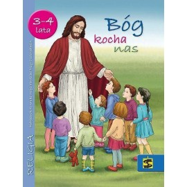 Katechizm 3-4 lata Bóg kocha nas podręcznik ŚBM