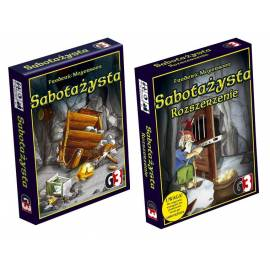 Sabotażysta - edycja podstawowa + rozszerzenie