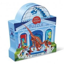 Puzzle 48 el. Dzień w muzeum - Dinozaury