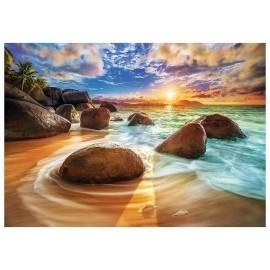 Puzzle 1000 Plaża Samudra, Indie TREFL