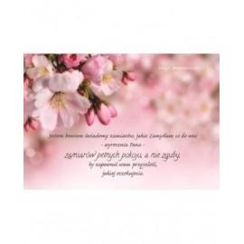 A Kartka składana - Jestem bowiem świadomy Jabłoń