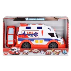Ambulans biało-czerwony 33 cm