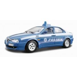 Alfa Romeo 156 Polizia 1:24 BBURAGO