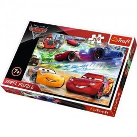 Puzzle 200 - Droga do zwycięstwa Disney Cars TREFL