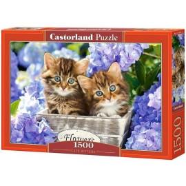 Puzzle 1500 Cute Kittens CASTOR
