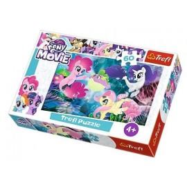Puzzle 60 Podwodne kucyki TREFL