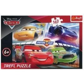 Puzzle 160 Zwycięski wyścig Cars TREFL