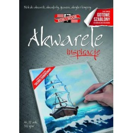 Blok Inspiracje 2 - Akwarele A4/20 arkuszy 320g
