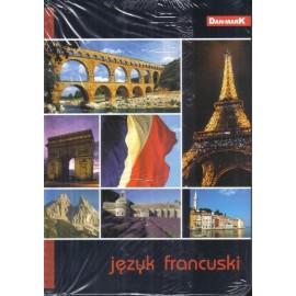 Zeszyt A5/60K kratka Język francuski (10szt)