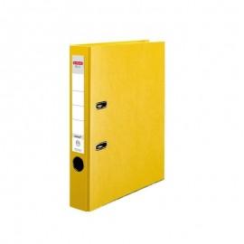 Segregator A4 5cm PP żółty Q file