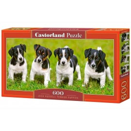 Puzzle 600 Jack Russel terrier puppies CASTOR