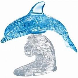 Crystal puzzle duże delfin