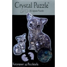 Crystal puzzle kotki