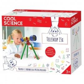 Cool Science nauka i zabawa - Teleskop 15x