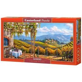 Puzzle 4000 Vineyard Village CASTOR