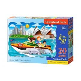 Puzzle 20 maxi - Motor Yacht Trip in Sydney CASTOR