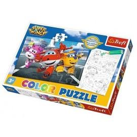 Puzzle 20 Gotowi do odlotu TREFL