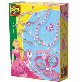 Brokatowe marzenia - Biżuteria księżniczki