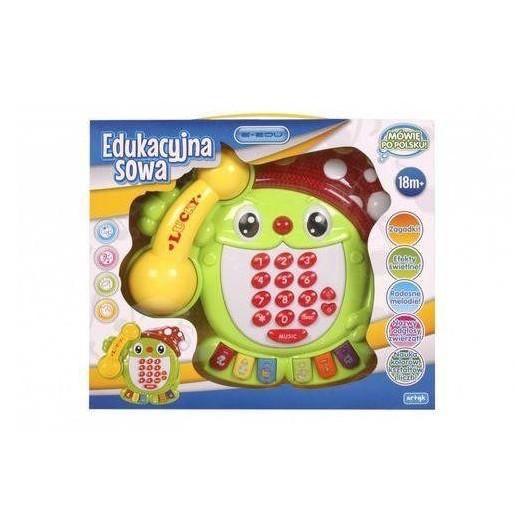 Zabawka muzyczna sowa e-edu