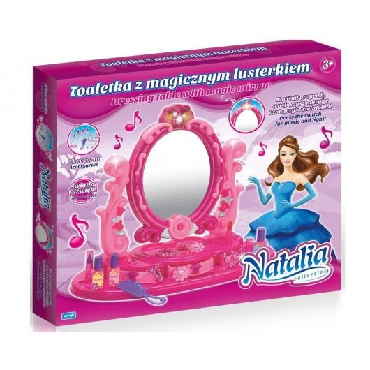 Toaletka z akcesoriami i dźwiękiem Natalia