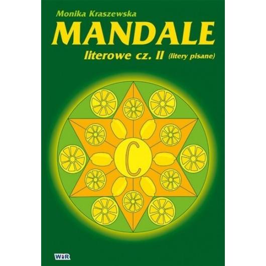 Mandale literowe - cz.2 litery pisane