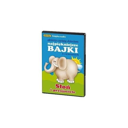 Słoń i przyjaciele - książka Audio