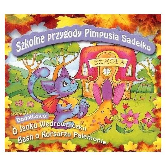 Szkolne przygody Pimpusia Sadełko CD