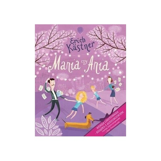 Mania czy Ania książka z audiobookiem