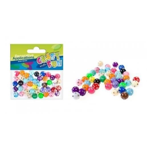 Ozdoba dekoracyjna plastikowe koraliki