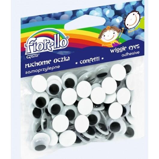 Confetti oczka samoprzylepne GR-KE80-12 FIORELLO