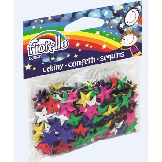 Confetti cekiny gwiazdki FIORELLO