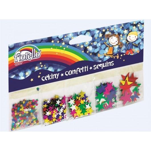 Confetti cekiny gwiazdy mix FIORELLO