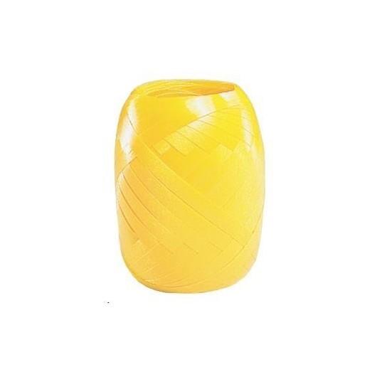 Wstążka kłębuszek 20m żółta
