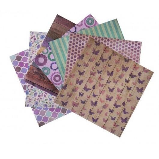 Zestaw papierów dekoracyjnych CRAFT SHOP