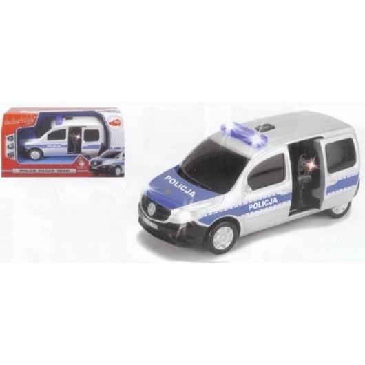 Samochód policyjny z radarem