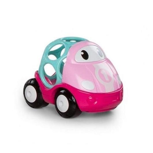 Oball GoGrippers Pojazd miejski różowy