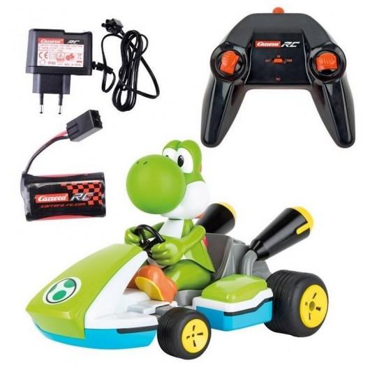 Carrera RC - Mario Kart Yoshi Race Kart z dźwię.