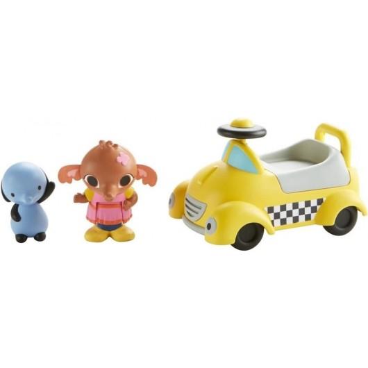 Bing Talkie Taxi pojazd ze zwierzątkiem