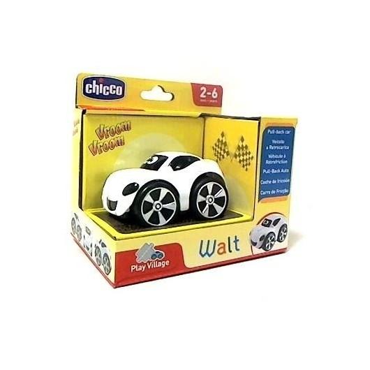 Autko Mini turbo Stunt Walt- biały