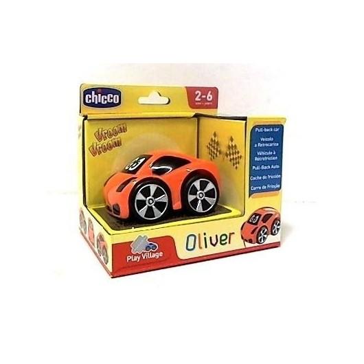 Autko Mini turbo Touch Oliver- pomarańczowy