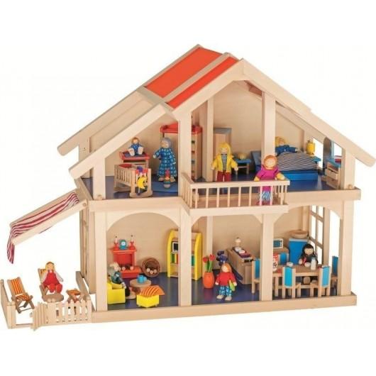 Domek dla lalek z patio