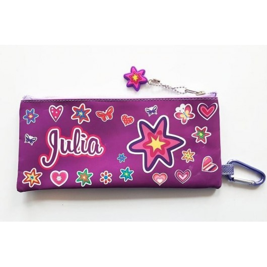 Piórnik imienny szkolny - Julia