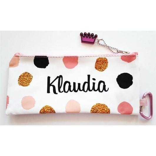Piórnik imienny młodzieżowy - Klaudia