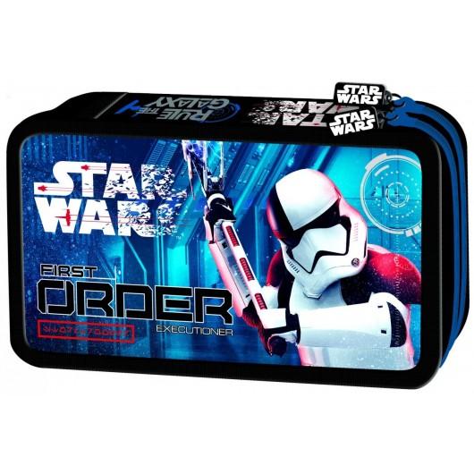 Piórnik podwójny z wyposażeniem Star Wars VIII