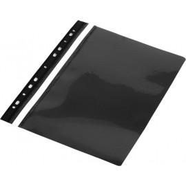 Skoroszyt A4 PVC z europerforacją czarny (10szt)