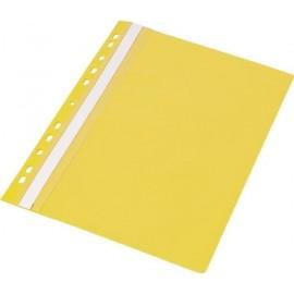 Skoroszyt A4 PP z europerforacją żółty (20szt)
